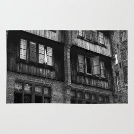 Windows in an Old Bar Rug