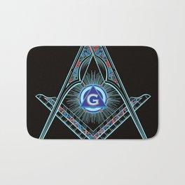 Freemason Symbol Bath Mat
