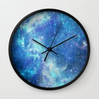 lunar Wall Clocks featuring Lunar by TenelArt