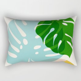 Abstraction_PLANTS_01 Rectangular Pillow