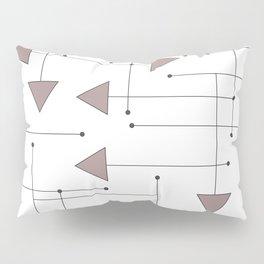 Lines & Arrows Pillow Sham