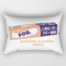 FOIL - Keeping Algebra Fresh Rectangular Pillow