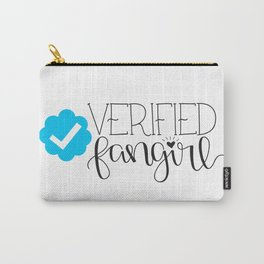 Verified Fangirl Carry-All Pouch
