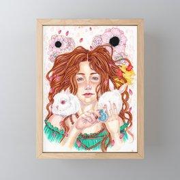 Ostara's Blessing Framed Mini Art Print
