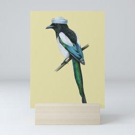 Eurasian magpie Mini Art Print