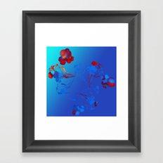 Flower in the Mind Framed Art Print