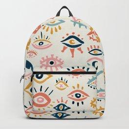 Mystic Eyes – Primary Palette Backpack