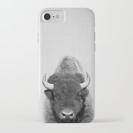 Buffalo - Black & White iPhone Case