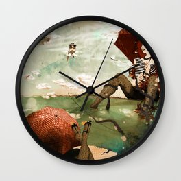 CLOUDWALKERS TWO Wall Clock