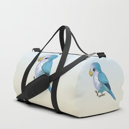 very cute blue quaker parrot Duffle Bag