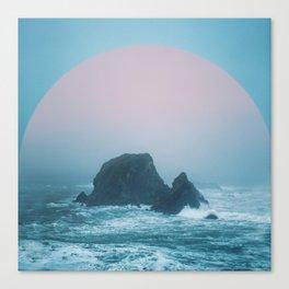 Peach Sunrise Canvas Print