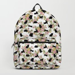 Kittens Floral Backpack