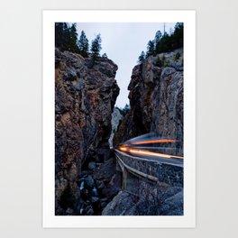 Sinclair Canyon Art Print