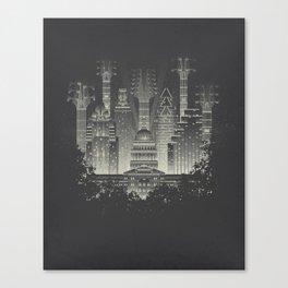 Live Music Capital Canvas Print