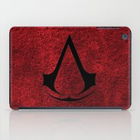 assassins creed iPad Cases featuring Creed Assassins Brotherhood by aleha