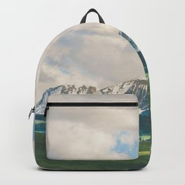 Sunlight and Mountains Backpack