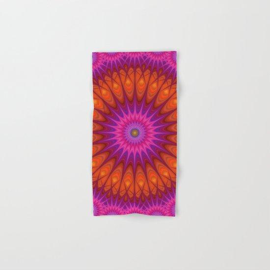 Hell mandala Hand & Bath Towel
