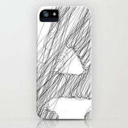 """"""" Cloud Collection """" - Minimal Letter A Print iPhone Case"""