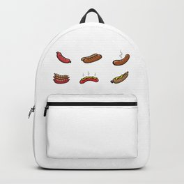 Grilled Hot Dogs Backpack