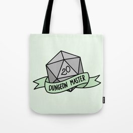 Dungeon Master D20 Tote Bag
