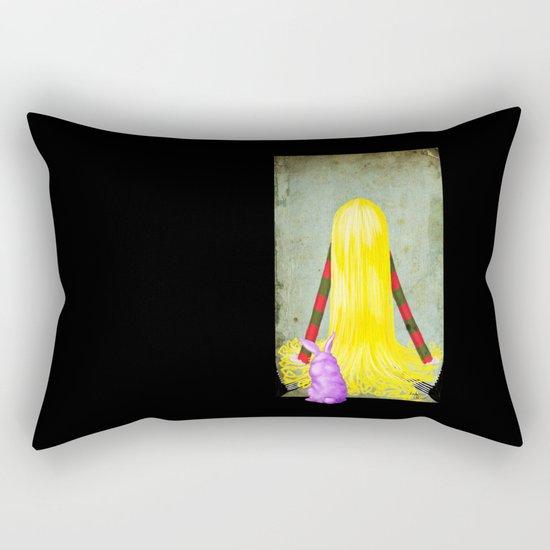 Unadjasted Again and Again and Again and Again Rectangular Pillow