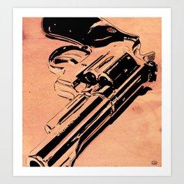 Gun #6 Art Print