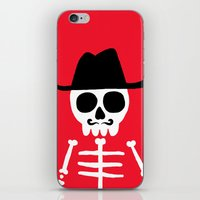 skeletor iPhone & iPod Skins featuring El Skeletor by David Allart