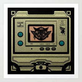 Beezelbubba Game and Watch  Art Print