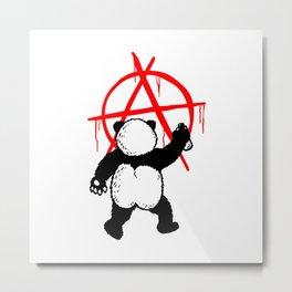Pandalism Aircle-A Anarchism Metal Print