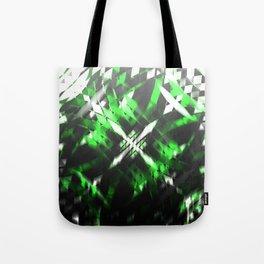 Metallic X Tote Bag