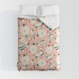 Roller Disco Pink Comforters