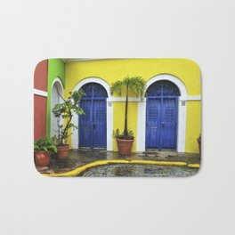 old San Juan, historic distric Puerto Rico Bath Mat