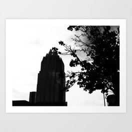 Towers toward the Sky  Art Print