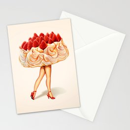 Cake Girl - Pavlova Stationery Cards