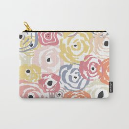 Colorful Flower Bundle Carry-All Pouch
