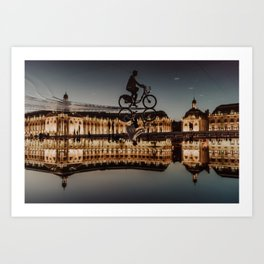 From Bordeaux with love Art Print