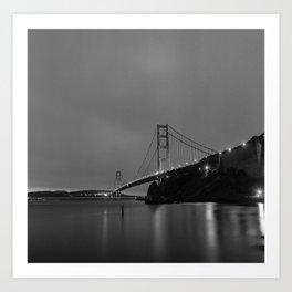 Golden Gate Bridge - San Francisco, CA Art Print