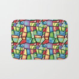 Stained-glass Bath Mat