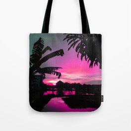 Sunset (pink) Tote Bag