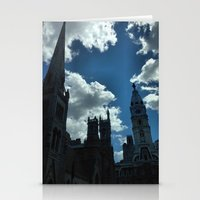 philadelphia Stationery Cards featuring Philadelphia by Julie Maxwell