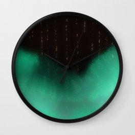 Night Rains Wall Clock
