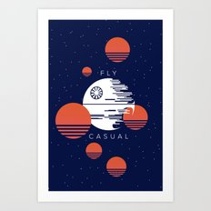 Fly Casual Art Print