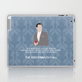 The Reichenbach Fall - Jim Moriarty Laptop & iPad Skin
