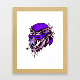 Beebop Don't Stop Framed Art Print