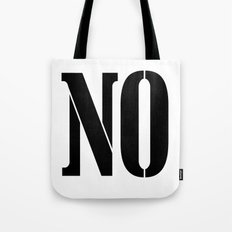 NO Tote Bag