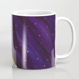 Barn Owl with Star-studded Sky Coffee Mug