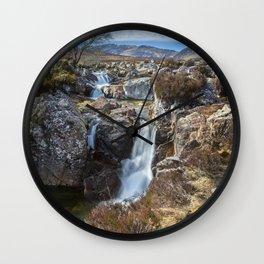 Glencoe Falls Wall Clock