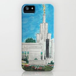 The Hague Netherlands LDS Temple iPhone Case
