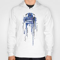 geek Hoodies featuring A blue hope 2 by SMAFO