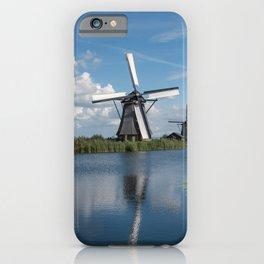 Kinderdijk Windmills iPhone Case